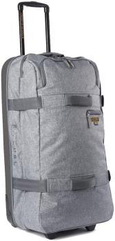 Ripcurl F-Light Global Cordura Wheeled Bag/Suitcase, 100L Grey