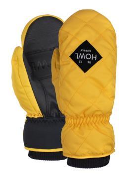 Howl Jed Mitt Ski / Snowboard Mitts, L Yellow