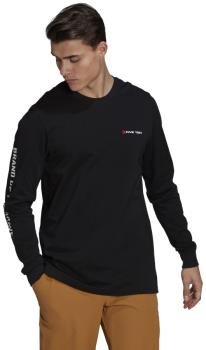 Adidas Five Ten GFX Long Sleeved T-shirt, M Black