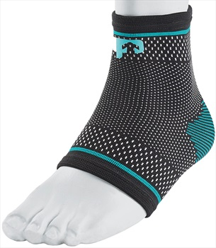 Ultimate Performance Compression Elastic Ankle Support, M Black/Blue
