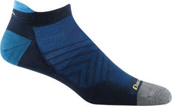 Darn Tough Run No-Show Tab Ultra-Light Running Socks, M Eclipse