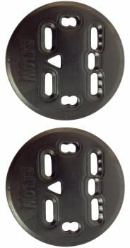 Flow Fuse Multi-Disc Kit Replacement Snowboard Binding Discs, 9.5cm