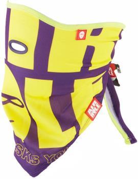 Airhole S3 Bandana Tie Up Snowboard/Ski Face Mask, One Size Purple