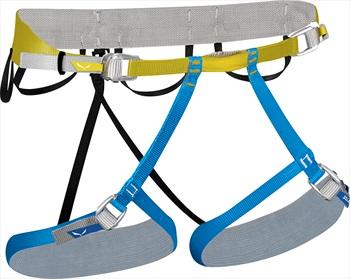 Salewa Ortles Alpine Climbing Harness, L/XL Warm Olive/Dark Denim
