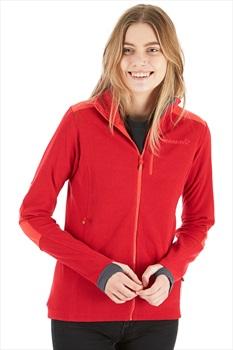 Norrona Svalbard Warm1 Jacket Women's Polartec Fleece, M Jester Red