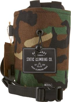 Static Canvas Rock Climbing Chalk Bag : Camo