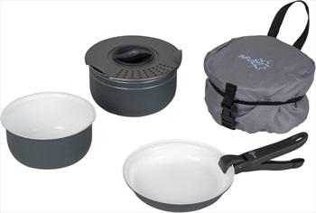 Bo-Camp Trekking Cookware Set Ceramic Coated Camping Cookset