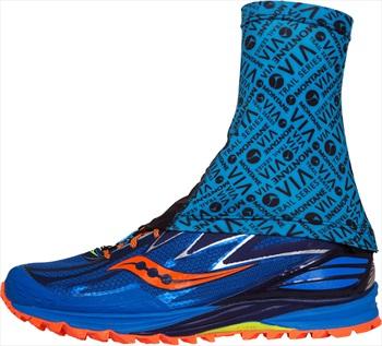 Montane Via Sock-It Short Trail Running Ankle Gaiter, M/L Blue Spark