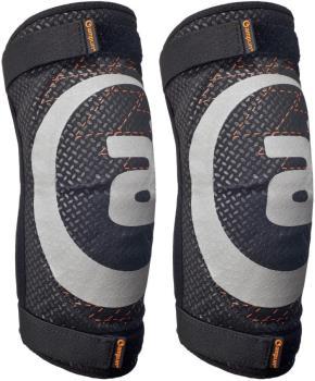 Amplifi Cortex Polymer Ski/Snowboard Elbow Pads, S Black