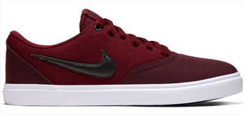 Nike SB Womens Check Solar Canvas, UK 8 Night Maroon/ White