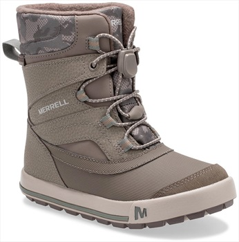 Merrell Snow Bank 2.0 WTPF Kid's Winter Boots, UK Child 12 Gunsmoke