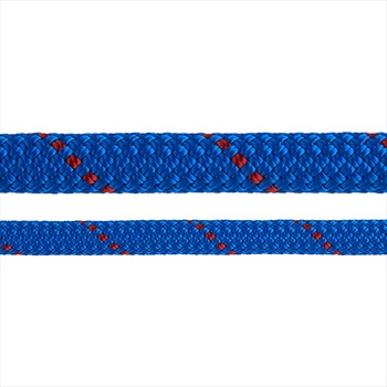 Edelweiss Rocklight II Rock Climbing Rope: 9.8mm X 70m, Blue/Red