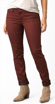 Prana Kayla Regular Women's Stretch Cotton Jeans, UK 14 Vino
