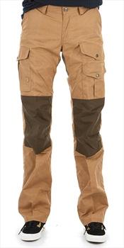 Fjallraven Barents Pro Women's Hiking Trousers, 40 Dark Sand/Olive