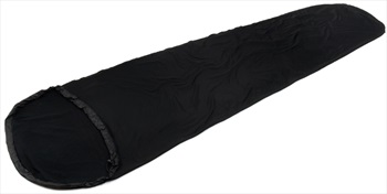 Snugpak TS1 Liner Thermal Sleeping Bag Liner, Regular Black
