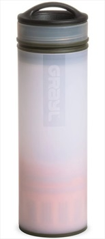 Grayl Ultralight Water Purifier & Travel Filter Bottle Alpine White