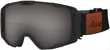 Melon Parker Dark Smoke Snowboard/Ski Goggle, M/L Black