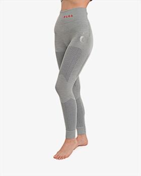 Floa Womens Backcountry Baselayer Legging, S/M Silver