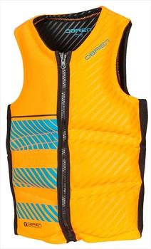 O'Brien Pro Series Wake Wakeboard Impact Vest, XS Orange