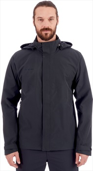 Mammut Trovat HS Hooded Waterproof Hardshell Jacket, S Black