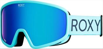 Roxy Womens Feenity Aqua/Sonar, Sonar Women's Ski/Snowboard Goggles, M/L