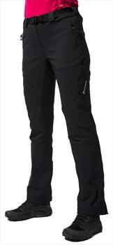 Montane Terra Ridge Regular Women's Stretch Hiking Pants UK 10 Black