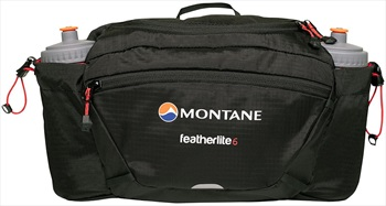 Montane Featherlite 6 Waist Pack 6L Bum Bag, 6L Black