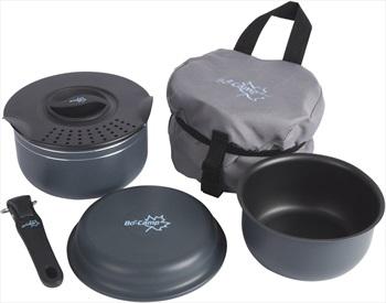 Bo-Camp Trekking Cookware Set Backpacking Cookset, 5 Pieces