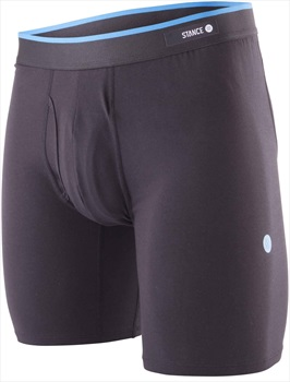 Stance Combed Cotton Boxer Shorts/Underwear, S Standard Black