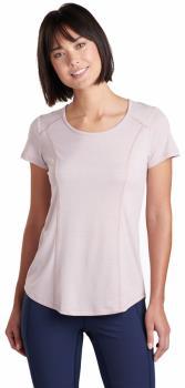 Kuhl Intent Women's SS T-Shirt, L Pale Pink