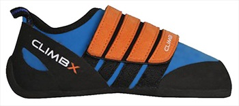 Climb X Kinder Velcro Kid's Rock Climbing Shoe UK Kids 11-11.5 Blue