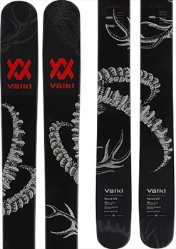 Volkl Revolt 124 Ski Only Skis, 186cm Black/Red 2019