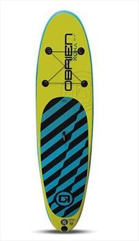 """O'Brien Kona Beginner ISUP Paddleboard and Leash, 10'6"""" Lime Green"""