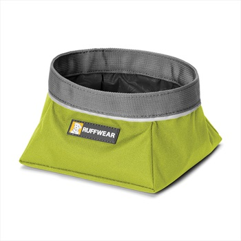 Ruffwear Quencher Dog Water/Food Bowl S Forest Green