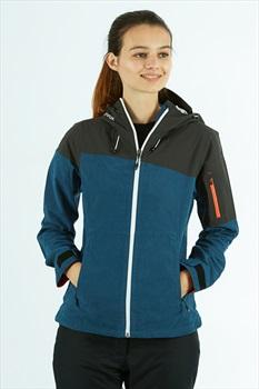 Ortovox Womens Corvara Jacket Waterproof Alpine Shell - M, Night Blue