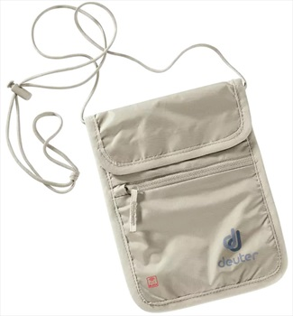 deuter Security Wallet 2 RFID Travel Wallet, One Size Sand