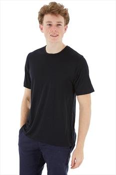 Silkbody Silkspun Short Sleeve Baselayer Top, M Black