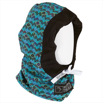 Brethren Apparel Thug Rug Ski/Snowboard Face Hood, One Size Real Eyes