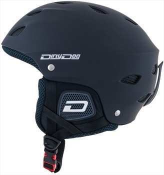 Dirty Dog Orbit Snowboard/Ski Helmet, XXL Matte-Black