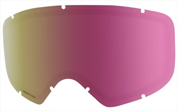 Anon Womens Deringer Ski/Snowboard Goggles Spare Lens, One Size Sonar Pink