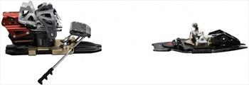 Dynafit Beast 14 Ski Bindings, 105mm, Black/Grey/Red
