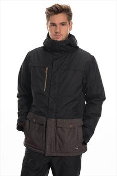 686 Anthem Insulated Ski/Snowboard Jacket, L Black Colorblock