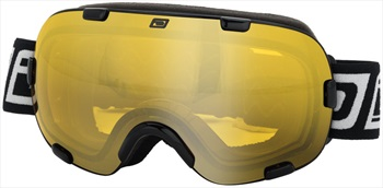 Dirty Dog Afterburner Ski/Snowboard Goggles L Black Yellow