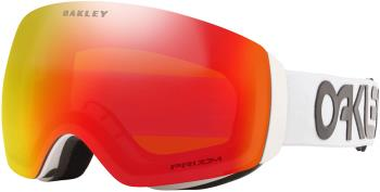 Oakley Flight Deck M Prizm Torch Snowboard/Ski Goggles, M FP White