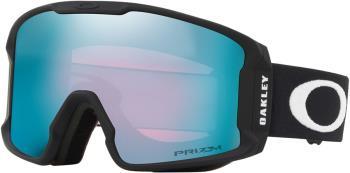 Oakley Line Miner M Prizm Sapphire Snowboard/Ski Goggles, M Black