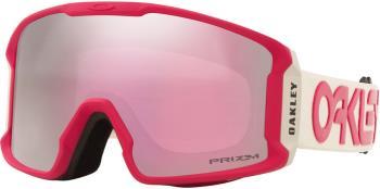 Oakley Line Miner M Prizm Hi Pink Snowboard/Ski Goggles, FP Grey