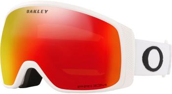 Oakley Flight Tracker M Prizm Torch Snowboard/Ski Goggles, M White
