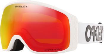 Oakley Flight Tracker M Prizm Trch Snowboard/Ski Goggles, M FP White