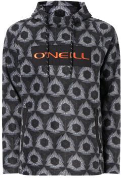 O'Neill O'Riginals Hooded Fleece Ski/Snowboard Hoodie, XL Black AOP