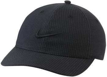 Nike SB Heritage86 Seersucker Snapback Cap, Adjustable Black